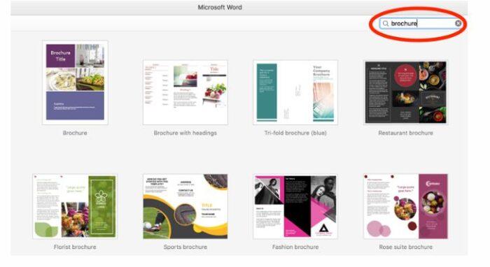 So erstellen Sie eine Broschüre in Word in einer beliebigen Version 9