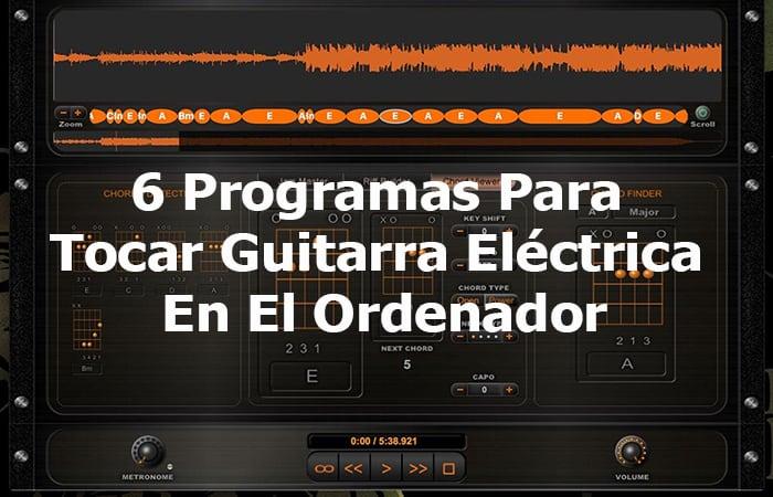 6 Programme zum Spielen von E-Gitarren auf dem Computer
