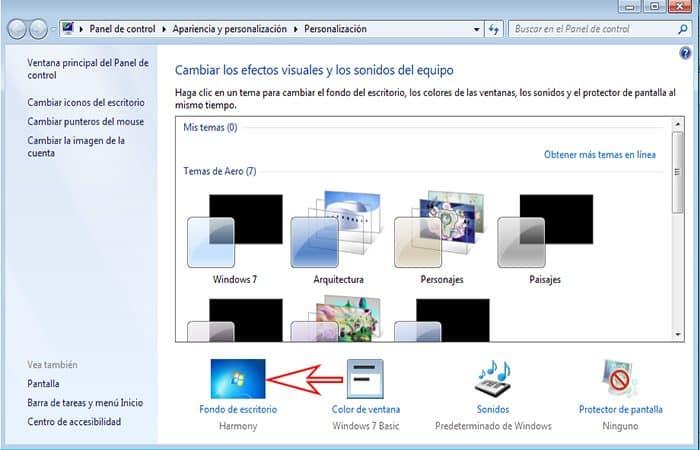 So ändern Sie das Hintergrundbild in Windows 7. 2021 Guide