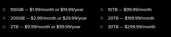 So kaufen Sie mehr Google Drive-Speicherplatz