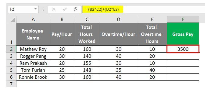 So erstellen Sie eine Gehaltsabrechnung in Excel 17