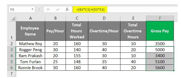 So erstellen Sie eine Gehaltsabrechnung in Excel 18