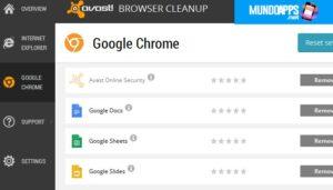 Avast-Browserbereinigung