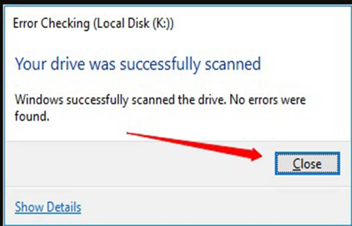 Windows-Nachricht