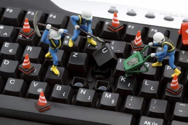 So reparieren Sie eine Taste auf Ihrer Computertastatur, Methoden