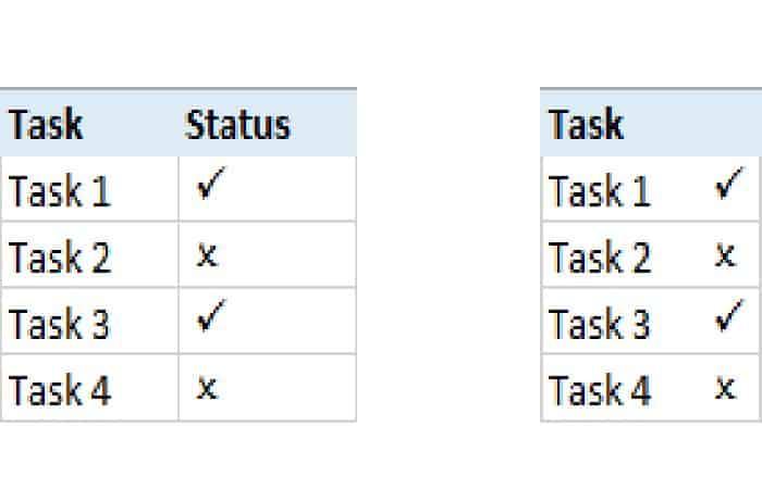 So erstellen Sie die ✔ Excel-Anmeldung