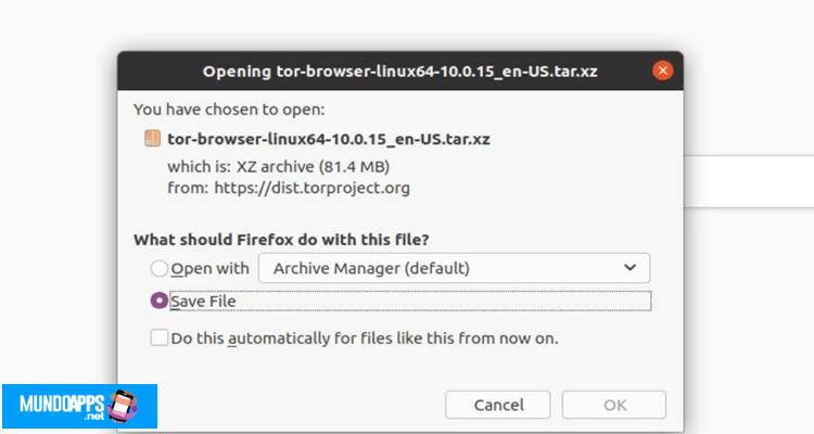 Tor unter Linux über den Quellcode installieren