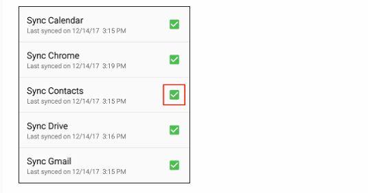 So übertragen Sie Kontakte vom iPhone auf Android 31