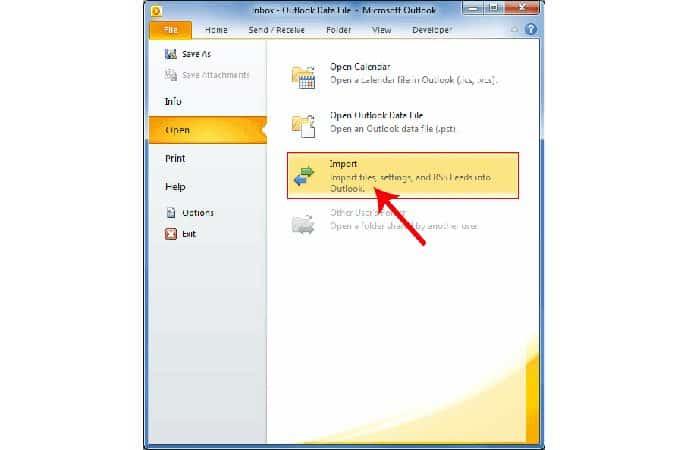 So erstellen Sie ein Backup in Outlook 13