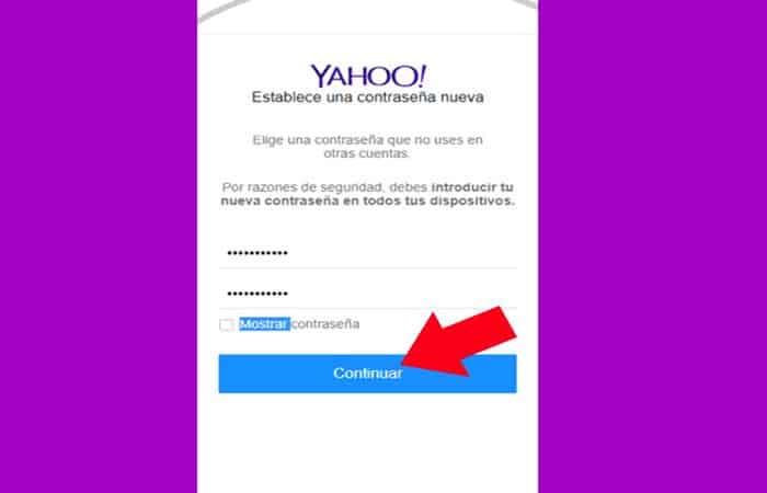 So stellen Sie ein Yahoo Mail-Konto wieder her 8