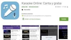 Online-Karaoke