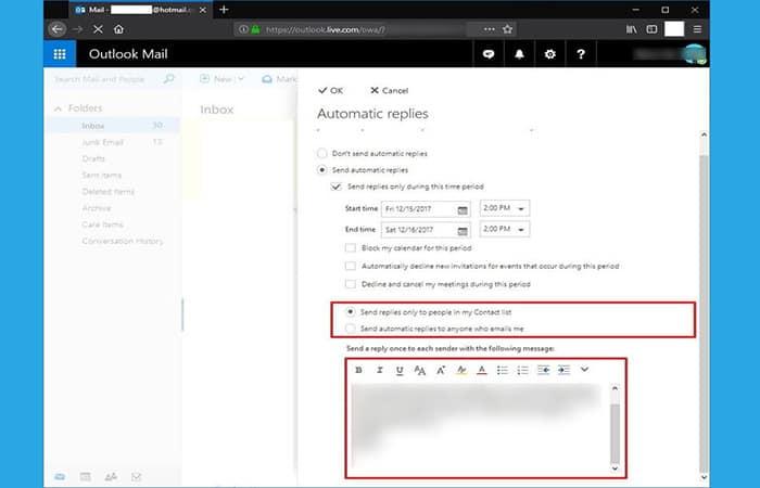 So richten Sie automatische Antworten in Outlook ein