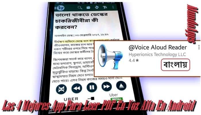 4 Beste App, um PDF auf Android im Jahr 2021 laut vorzulesen