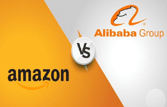 Amazon vs Alibaba.  Vergleich 2021. Unterschiede