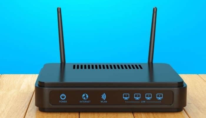 So greifen Sie auf die Homepage eines WLAN-Routers zu.