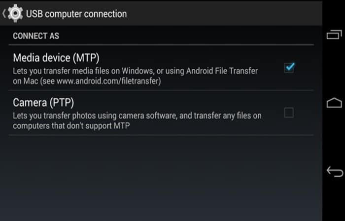 So aktivieren Sie MTP unter Android.  Tutorial 2021. .net