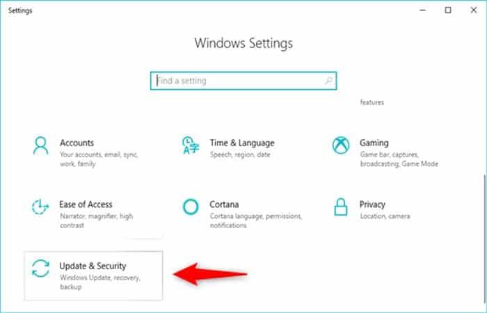 Booten von USB Windows 10