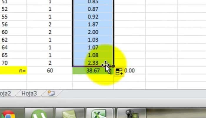 So berechnen Sie die Abweichung in Excel.  Tutorial 2021.