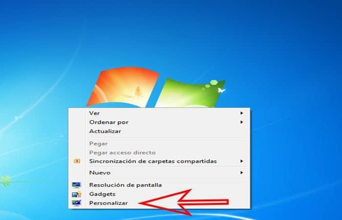 So ändern Sie das Hintergrundbild in Windows 7