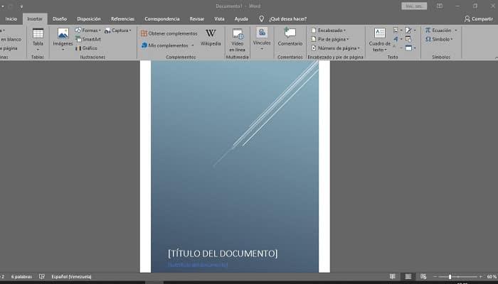 So erstellen Sie ein Cover in Microsoft Word.  Tutorial 2021