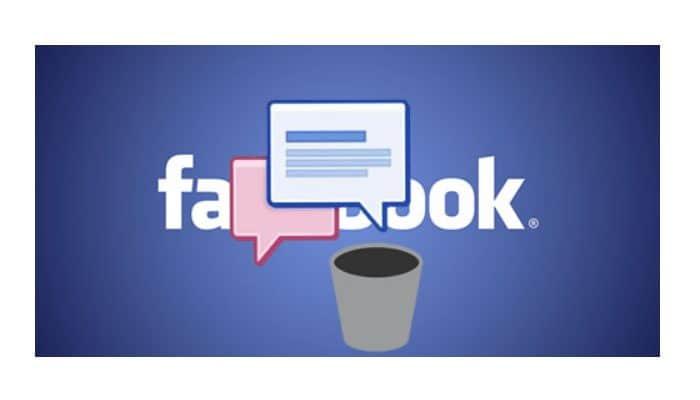 So löschen Sie Nachrichten auf Facebook.  Aktualisiert 2021