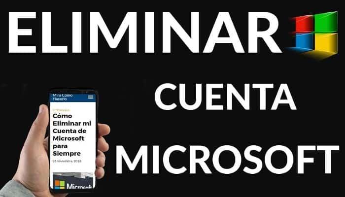 So löschen Sie ein Microsoft-Konto.  Tutorial 2021