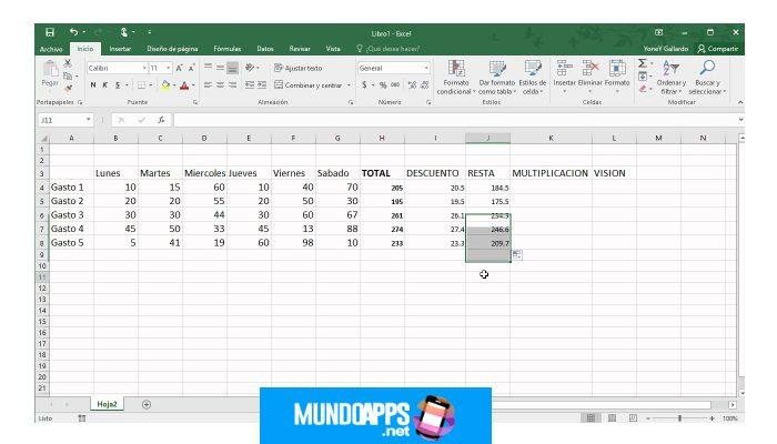 Wie man einfache Operationen in Excel durchführt, einfach und einfach