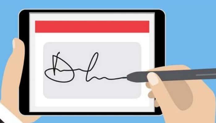 So signieren Sie ein Word-Dokument auf einem Mac-PC und einem Smartphone