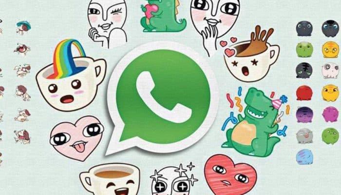 So kleben Sie 2021 Aufkleber auf WhatsApp.