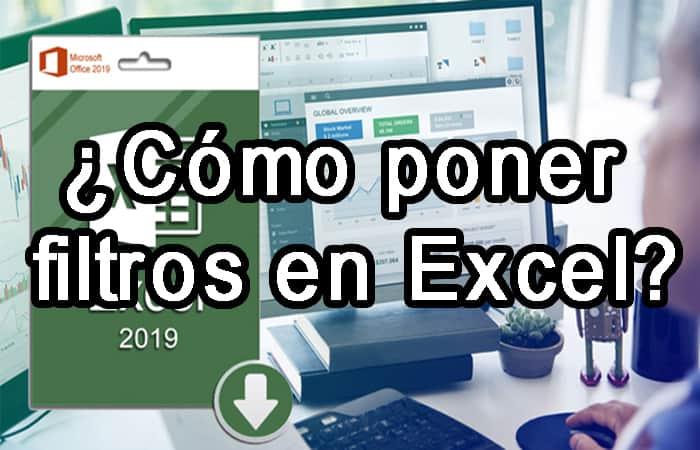 So fügen Sie Filter in Excel ein.  Tutorial 2021.