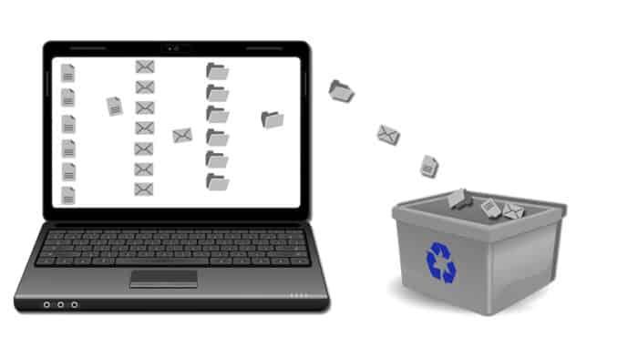 So reinigen Sie den Papierkorb vom Computer, Methoden und Tipps And