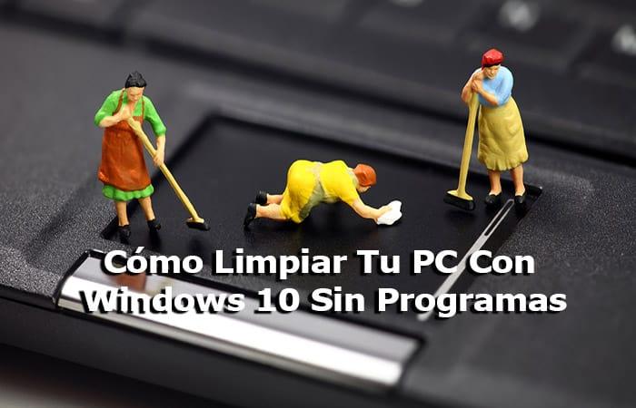 So reinigen Sie Ihren Windows 10-PC ohne Programme