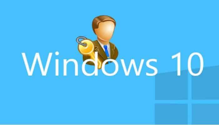 So ändern Sie ein Administratorkonto in Windows 10