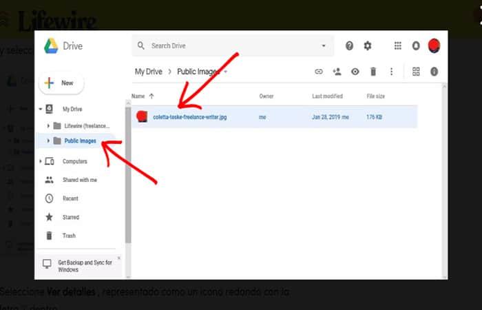 Comment télécharger des photos sur Google