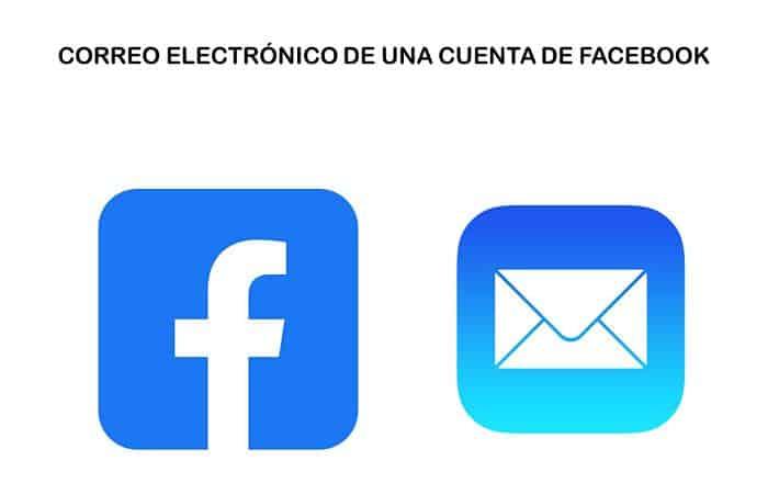e-mail de uma conta do Facebook