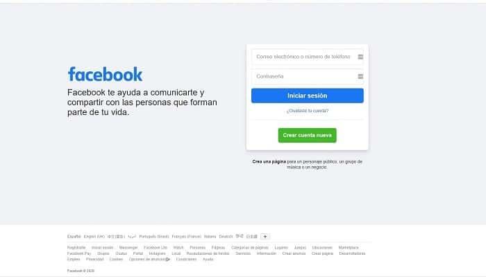 Erstelle zum ersten Mal ein Facebook-Konto.  Tutorial 2021