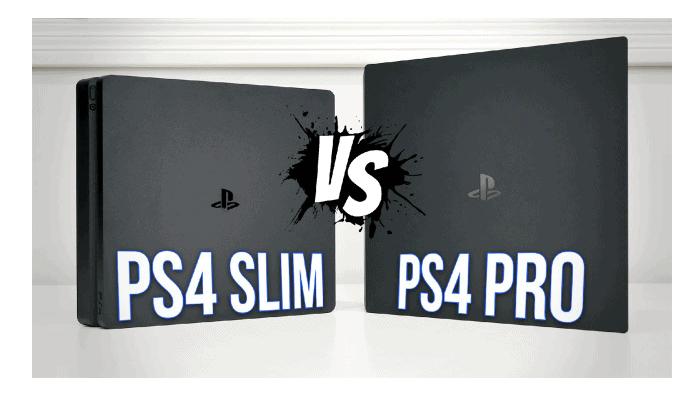 Unterschiede zwischen der PS4 Pro und der PS4 Slim.  Feedback