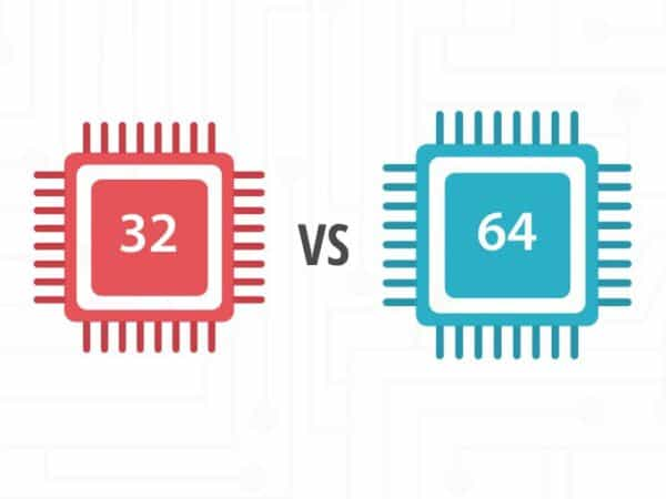 Was ist der Unterschied zwischen 32 und 64 Bit auf einem Computer?
