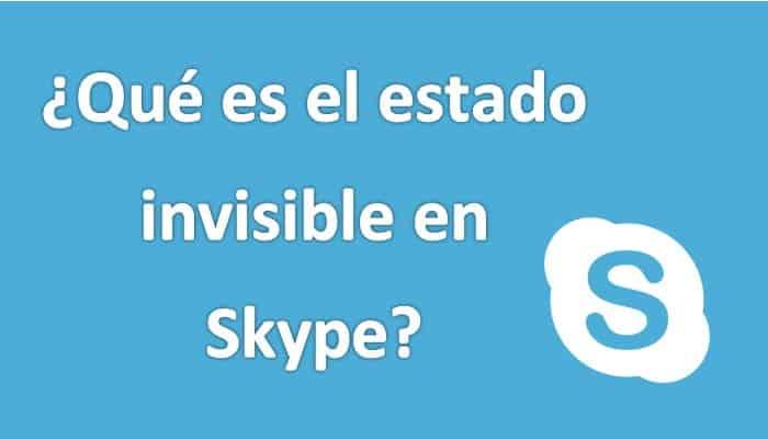 Was ist der unsichtbare Zustand bei Skype?  Leitfaden 2021