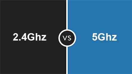 Dies sind die Hauptunterschiede zwischen 2,4 und 5 GHz WLAN