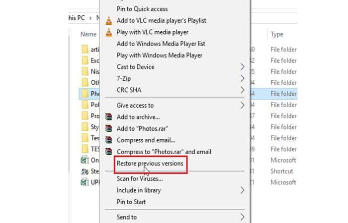 Wiederherstellen gelöschter Fotos vom PC ohne Programme im Jahr 2021