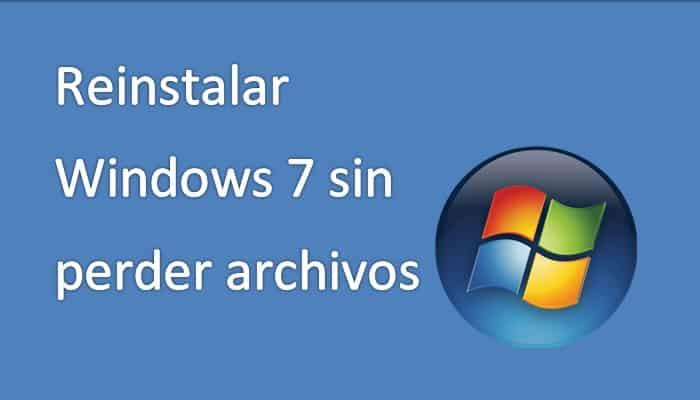 Installieren Sie Windows 7 neu, ohne Dateien zu verlieren.  Tutorial 2021