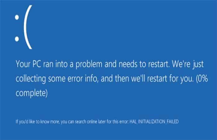 Bluescreen in Windows 10. Was es ist, wie man es repariert.