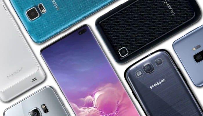 Samsung Galaxy Modelle und Unterschiede: A, B, C, D.  Leiten.