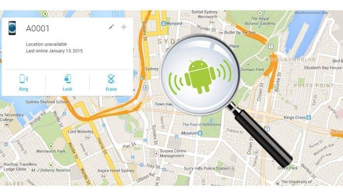 Fix Android Device Manager Speicherort nicht verfügbar?
