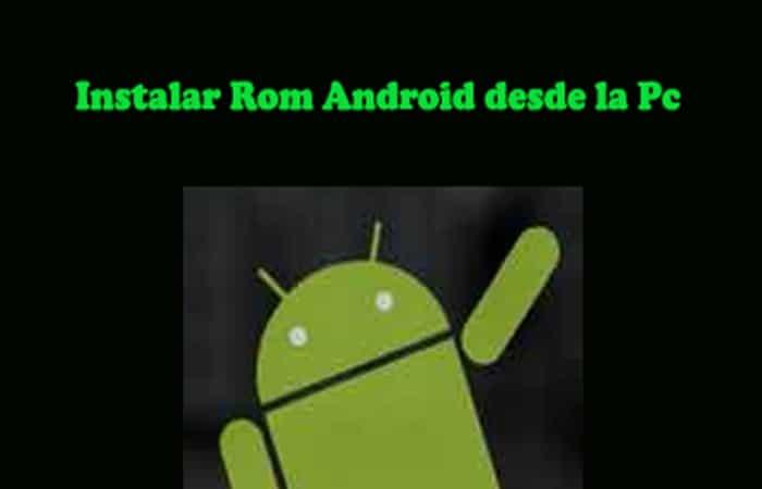 So installieren Sie Android Rom vom PC.  Tutorial 2021