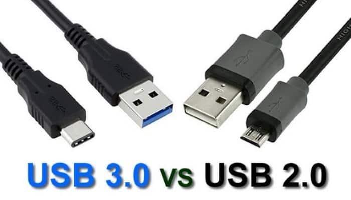 USB2.0 vs. USB3.0.  Unterschiede und Ähnlichkeiten.  2021 Rückblick